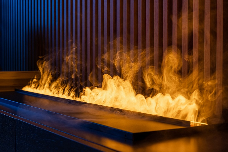 Функції та види полум'я в електрокамінах.
