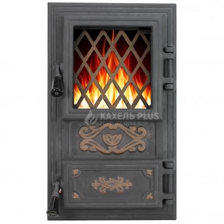 """Дверцята для печі зі склом """"Classic"""" 310х520, фото 1 , 2850грн"""