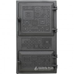 """Дверцята для печі без скла """"Модерн"""" 270х500 мм фото"""
