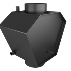 Теплообмінник теплої води Ø200 без труб фото