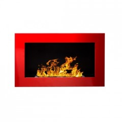 Біокамін Globmetal 650x400 Червоний глянець фото