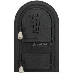 "Дверцята для печі без скла ""Bruno"" 345х560 фото"
