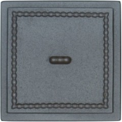 """Чавунна прочисна дверка-сажотруска """"Dori 1"""" 170x170 мм фото"""