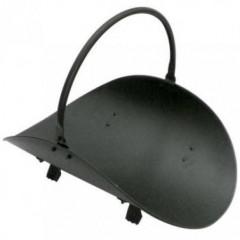 Корзина для дрів чорна фото