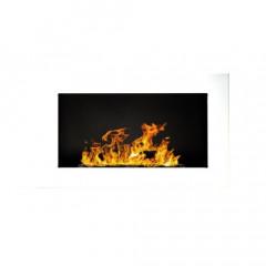 Біокамін Globmetal 650x400 Білий глянець фото