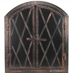 Дверцята для коптильні HELEN 600x700 з вогнетривкої сталі фото