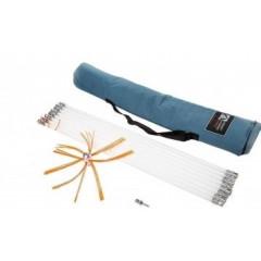 HANSA  Tornado pro професійний роторний набір для очищення димоходу 10м фото