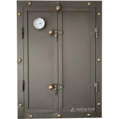 Дверцята для коптильні KELLER 500x700 утеплені з вогнетривкої сталі фото