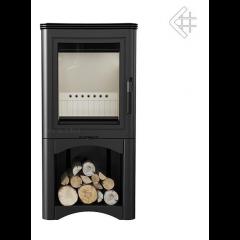 Сталева піч-камін Kratki KOZA K5 S з нішею для дров фото
