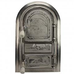 "Дверцята для печі без скла ""Leona"" 345х560 фото"
