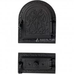 """Дверцята для печі роздільні """"Linda SWG"""" 310х360 мм фото"""
