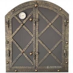 Дверцята для коптильні LOGAN 600x700 утеплені з вогнетривкої сталі фото