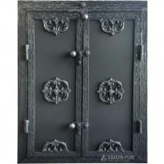 Дверцята для коптильні RIVERA 500x700 з вогнетривкої сталі фото