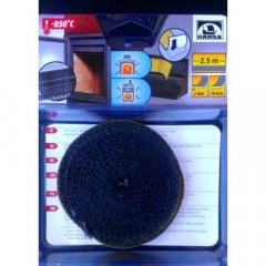 HANSA Шнур з керамоволокна самоклеючий Ø10мм х 2мм х 2,5м. фото