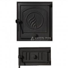 """Дверцята для печі роздільні без скла """"STYLE 35"""" 350X400мм фото"""