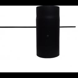 Шибер для димоходу (2 мм) Ø120 з ручкою фото