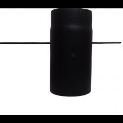 Шибер для димоходу (2 мм) Ø130 з ручкою фото