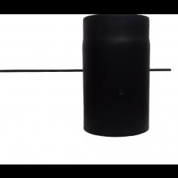 Шибер для димоходу (2 мм) Ø160 з ручкою фото