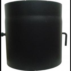 Шибер для димоходу (2 мм) Ø250 з гачком фото