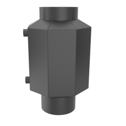 Теплообмінник водяний HITZE 7 КВТ Ø200 фото