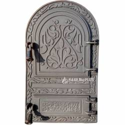 Дверцята для печі без скла Linda 315х535 фото