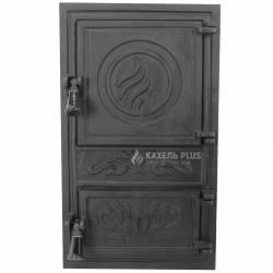 "Дверцята для печі без скла ""Fiona"" 300х515 фото"