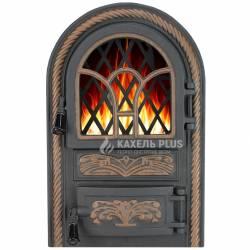 """Дверцята для печі зі склом """"Venice"""" 340х540 фото"""