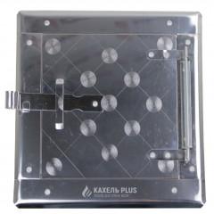 Дверца прочисная сажетруска нержавейка 210х210 мм фото