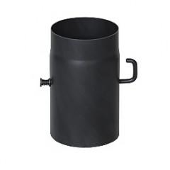 Шибер для дымохода (2 мм) Ø180 с крючком фото