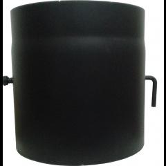 Шибер для дымохода (2 мм) Ø200 с крючком фото