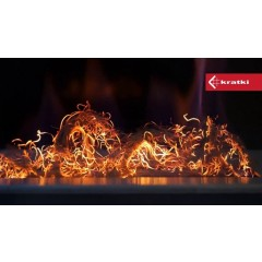 Жаростойкое волокно KRATKI GLOW FLAME фото