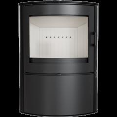 Кафельная печь-камин Kratki KOZA AB S 2 черная фото