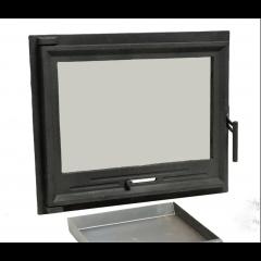 Дверца для камина «EVANS» 600х490мм фото