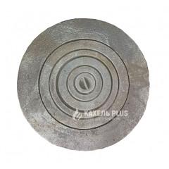 Плита чугунная под казан круглая диаметром 600 мм фото